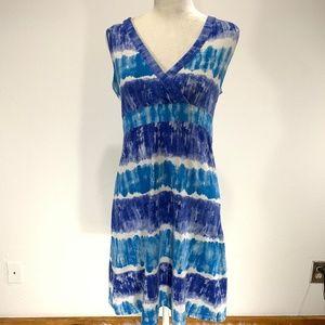 Calvin Klein Sleeveless S/P Comfy Blue V-Neck A552